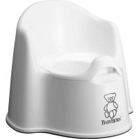 Горшок Baby Bjorn Potty Chair Белый (55121) - фото