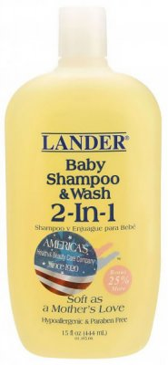 Шампунь Lander Baby Shampoo Wash (2-in-1) 444 мл 813822011051